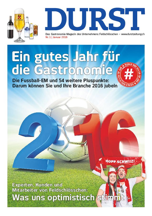 Durst Ausgabe 01/2016 (DE)