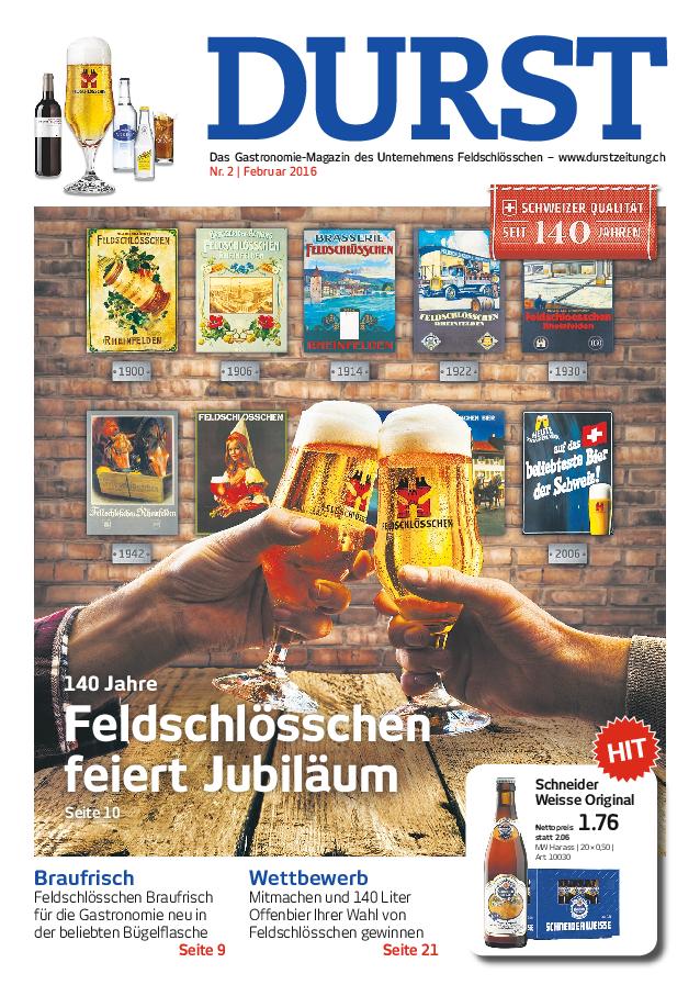 Durst Ausgabe 02/2016 (DE)